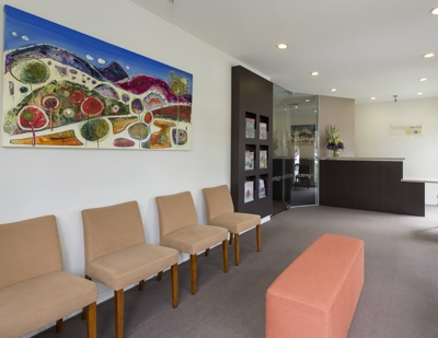 Bentleigh Dental Reception Area